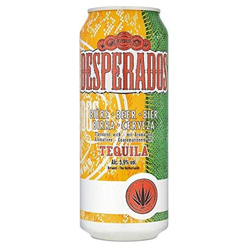 Desperados Tequila Aromatisierte Bier 4 x 500 ml (Packung mit 24 x 500 ml)
