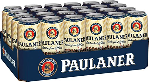 Paulaner Oktoberfestbier (24 x 0.5 l), inkl. 6.00 Euro DPG Pfand, EINWEG