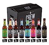 CREW Republic Craft Beer Box, Craft Bier Probierset Biertasting (20 x 0,33l)