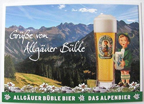 Allgäuer Brauhaus - Büble Bier - Grüße von Allgäuer Büble - Postkarte - Motiv 14