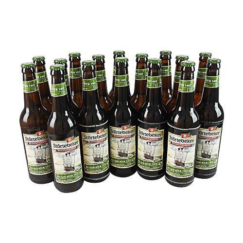 Störtebeker BIO Keller Bier 1402 (16 Flaschen à 0,5 l / 4,8% vol.)