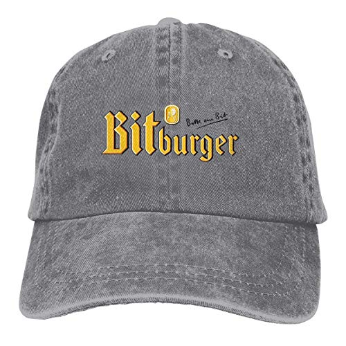 Yuanmeiju Denim Cap Bitburger Beer Baseball Caps Mens Womens Adult Adjustable Cowboy Hat Casquette...