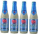 4 Flaschen a 0,33L Delirium Tremens Strong blond beer a 330ml rosa Elefanten inc. 0.32€ Mehrweg...