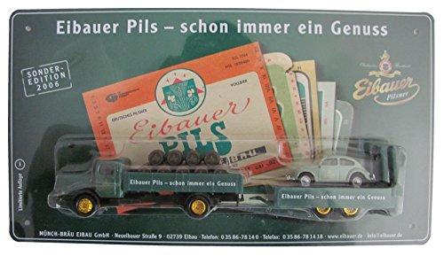 Eibauer Münch-Bräu Nr.52 - Schon Immer EIN Genuss - Man Büssing 8000 & Käfer - Hängerzug Oldie...