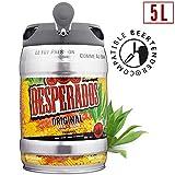 Desperados Bier mit Tequilla 5 Liter Partyfass incl. Zapfhahn