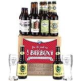 Bavariashop Bier-Box 'Fia di und mi', Zünftige Geschenkbox aus Bayern