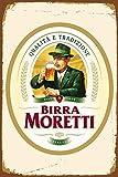 RABEAN Birra Moretti Italian Italy Beer Blechschilder Aluminium Schilder Eisen Malerei Blech Plakat...