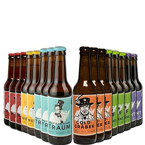 16er Landgang Bierpaket - 16 Craft Beer Spezialitäten von BierSelect - ein Paket mit erlesenen...
