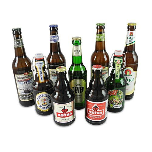 Norddeutsche Biere (9 Flaschen / 6,0% vol.)