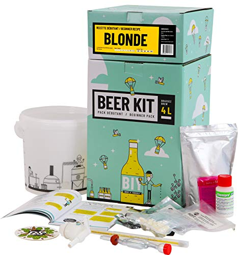 HOPT Brewing Kit Beginners: I Brew a Blond Beer - Heimbrau-Sets - Bier - Bierbrauen
