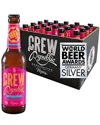CREW REPUBLIC® In Your Face - West Coast IPA Craft Bier | Platin Award American India Pale Ale 2019...