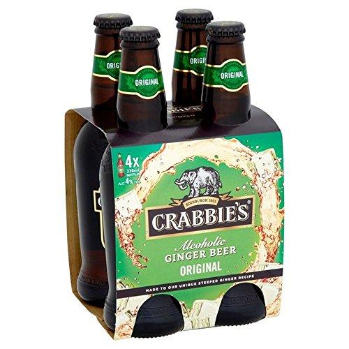 Crabbies Alkoholische Ginger Beer 4 x 330ml - (Packung mit 2)