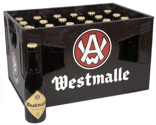 WESTMALLE TRIPLE 9,5% (Ohne Kasten) 24 x 33 cl. Belgisches Trappisten Bier limitiert.