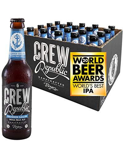 CREW REPUBLIC® Drunken Sailor - India Pale Ale Craft Bier | Gewinner World Beer Awards World's Best...