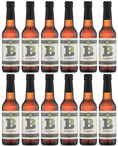 LEMKE Berlin Imperial IPA | Imperial India Pale Ale Craft Beer (12 x 0,33l)