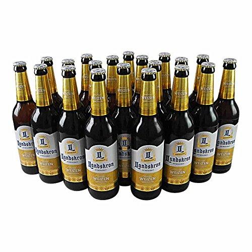 Landskron Weizen naturtrüb (20 Flaschen Weizenbier à 0,5 l / 5,5% vol.)