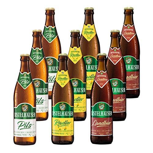 Distelhäuser Bierpaket Pils, Radler und Landbier, 9 Flaschen
