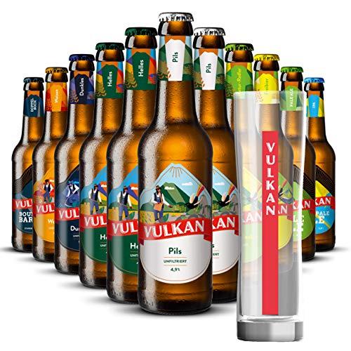Bier Mix-Paket mit Glas: Vulkan Craftbier