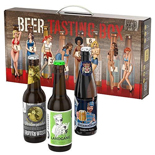 Kalea Männerhandtasche | Geschenk-Idee | Bier-Spezialitäten | mit Tragegriff |...