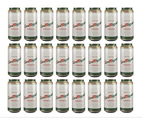 Bier San Miguel Spezial 24x50cl (Pack 24 Dosen)