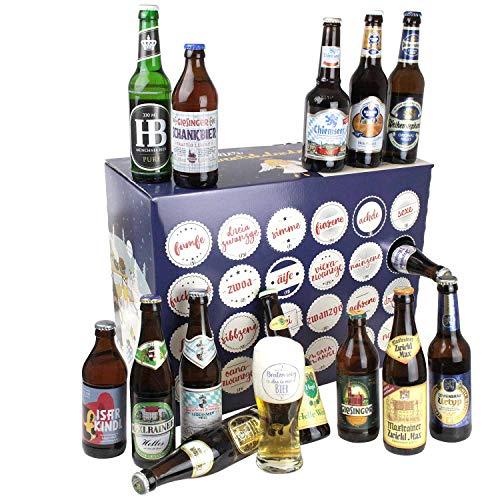 Bavariashop® Bayerischer Bier Adventskalender 2021 - Bier Kalender mit regionalen bayerischen...