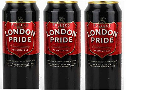 6 Dosen Fuller´s London Pride Premium Ale 500ml Vollbier Bier Fullers Alkoholgehalt 4,7% Vol.inc....