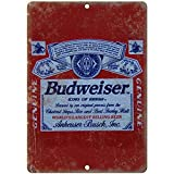 Budweiser Anheuser Busch Vinate Beer Ad 8' X 12' Reproduction Metal Sign E