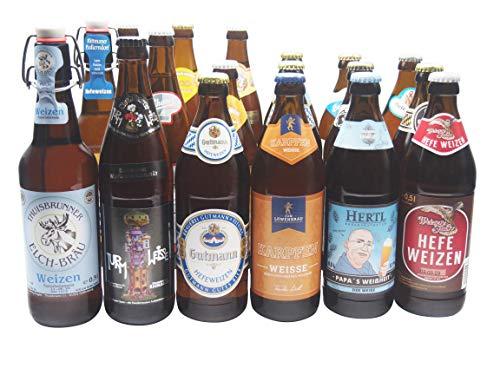 Bierwohl I Geschenkidee I Das Weisse I Bierset mit diversen Weissbieren/Weizenbieren aus Franken und...