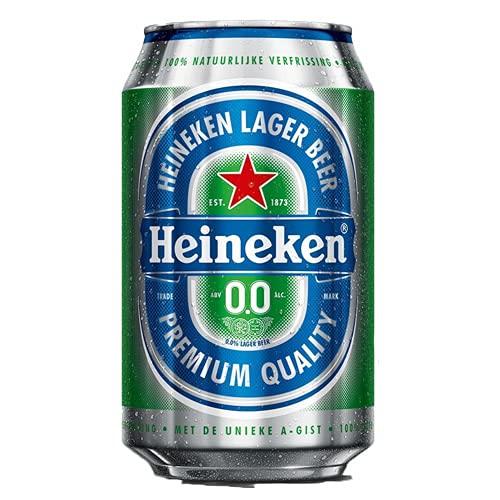 24 x Heineken 0% Bier (24 x 0,,33L) Alkoholfreies Bier Dosenbier (E.U.) inkl. Gratis FiveStar...