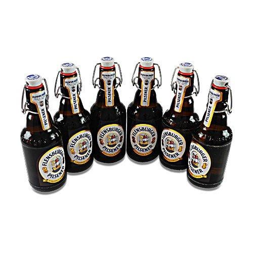 Flensburger Pilsener (6 Flaschen à 0,33 l / 4,8% vol.)