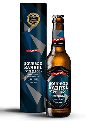 CRAFTBIER DES JAHRES 2017 (Meininger Award)!!! VULKAN Bourbon Barrel Doppelbock/tiefster Bierkeller...