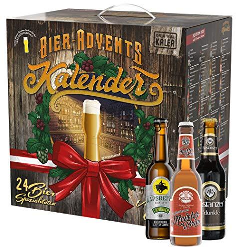 KALEA Bier-Adventkalender Edition Österreich, 24 Biere und 1 Flaschenöffner, perfektes...