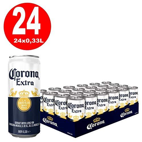 24 Dosen Corona Extra a 0,33L Beer Bier Orginal inc. 6,00€ EINWEG Pfand