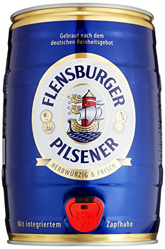Flensburger Pilsener Partyfass Pils (1 x 5 l)