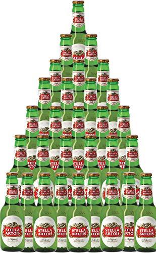 30er-Paket Bier | Bierpaket | Internationales Bier | Großpaket zum Sparpreis (30er-Paket Stella...