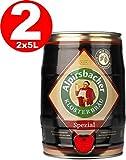2 x Alpirsbacher Spezial 5,2% vol. 5 Liter Partyfass