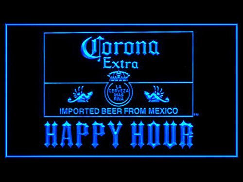 Goalouad Corona Extra Mexiko Bier Happy Hour Drink LED-Licht Schild