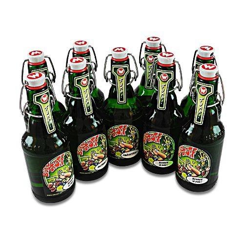 Bölkstoff Bier (9 Flaschen Wernerbier à 0,33 l / Pilsner / 4,8 % vol. inc. 1.35€ MEHRWEG Pfand