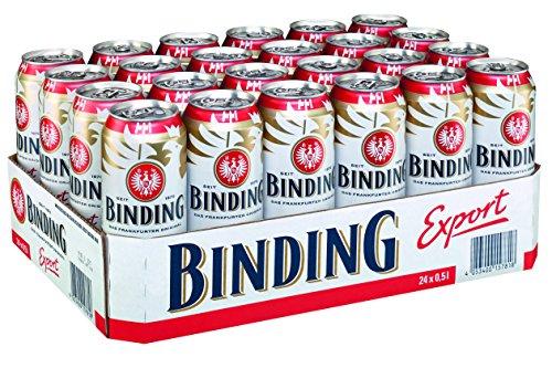 Binding Export Pils MEHRWEG, (24 x 0,5 l)