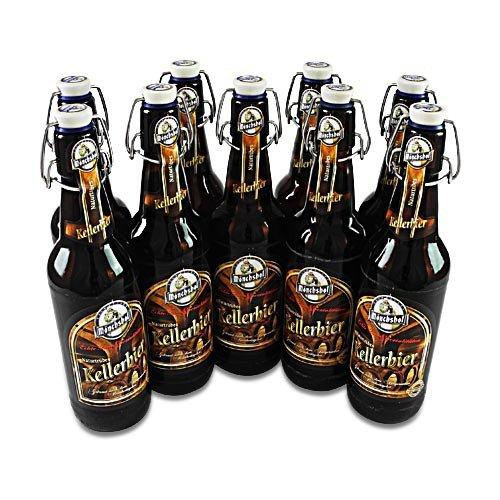 Mönchshof Kellerbier (9 Flaschen à 0,5 l / 5,4% vol.)