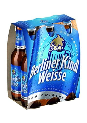 Berliner Kindl Weisse MEHRWEG, (6 x 0,33 l)