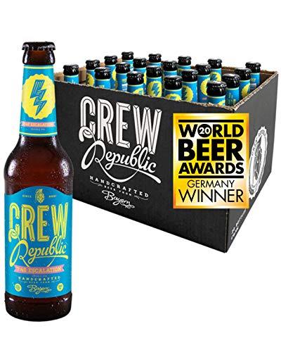 CREW REPUBLIC® 7:45 Escalation - Double India Pale Ale Craft Bier | Gewinner World Beer Award...