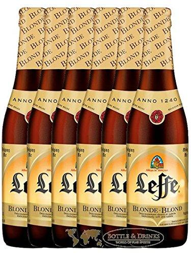 Leffe Blond Belgian Bier 6 x 0,33 Liter