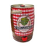 VOLLGOAS Goasmaß - Das Original! Bier im 5l Partyfass mit Zapfhahn: Die Goasmaß TO GO als Geschenk...