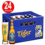24 Flaschen Tiger Beer Asien a 0,33L Bier Tiger asian inc. 1.96€ MEHRWEG Pfand