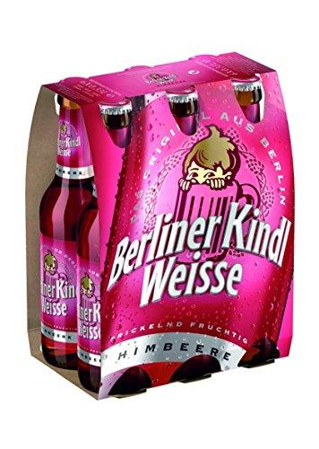 Berliner Kindl Weisse Himbeere MEHRWEG, (6 x 0,33 l)