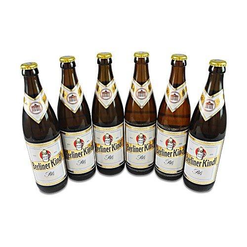 Berliner Kindl Pils (6 Flaschen à 0,5 l / 4,8% vol.)