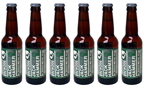 Brewdog Jack Hammer India Pale Ale, MEHRWEG (6 x 0.33 l)