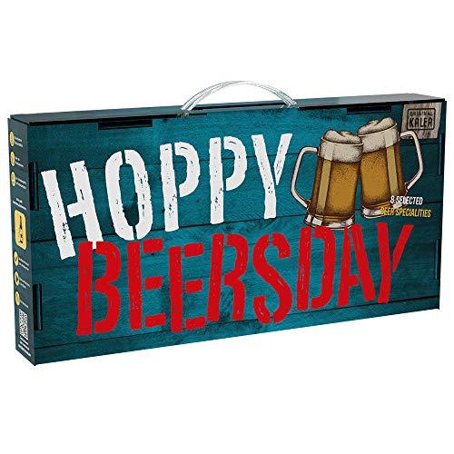 Hoppy Beersday | Beer-Tasting-Box | inkl. Grußkarte | Geschenkartikel mit Tragegriff | 8...