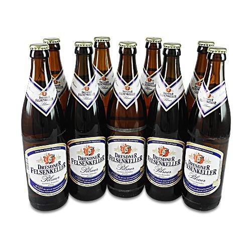 Dresdner Felsenkeller Pilsner (9 Flaschen à 0,5 l / 4,8% vol.)